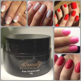 Soak of Gel and Exlusive Russian manicure Night London 50% deposit