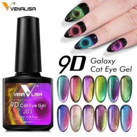 Venalisa 9D cat eye mágneses géllakk 7,5 ml