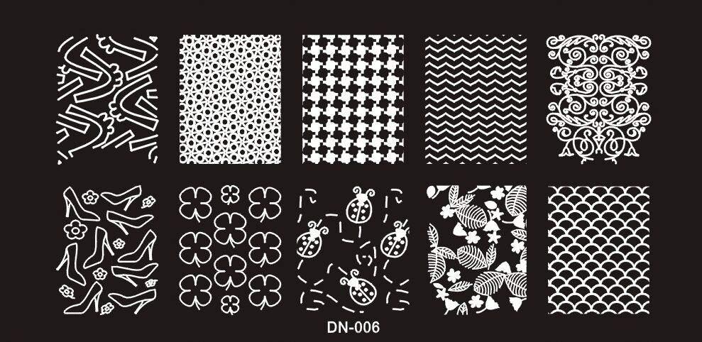 Nyomda lemez DN-006 6x12cm