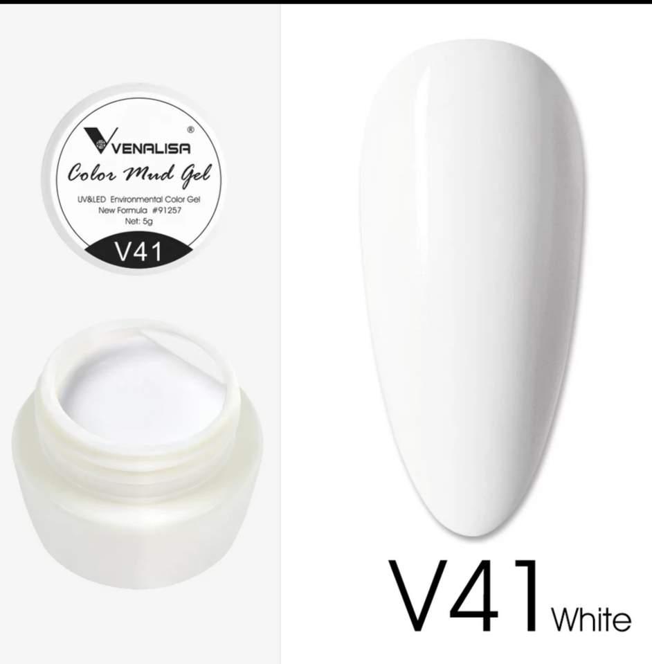 Venalisa Mud gél V41 Fehér