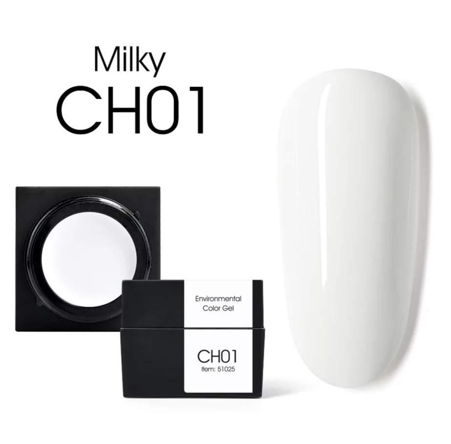 CANNI MUD gél CH01 Milky