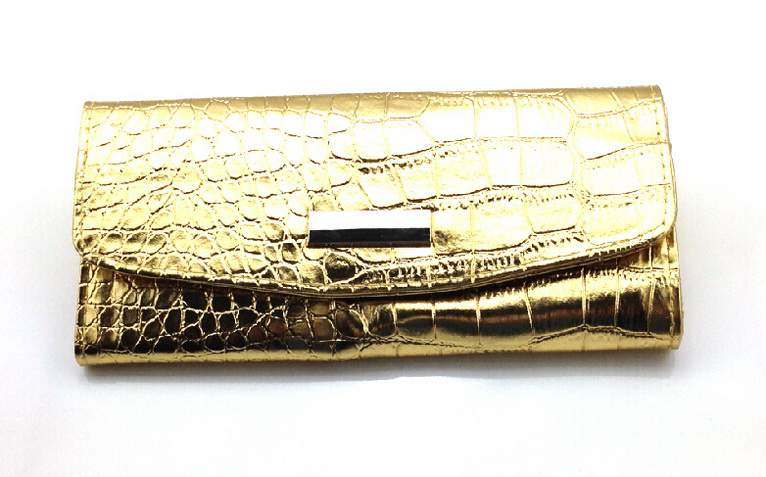 7 rekeszes ecsettrtó táska arany